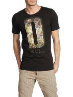 DIESEL T7-LETTER Short sleeves U f