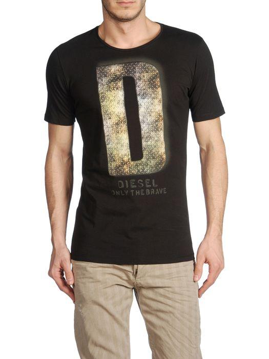 DIESEL T7-LETTER Short sleeves U e