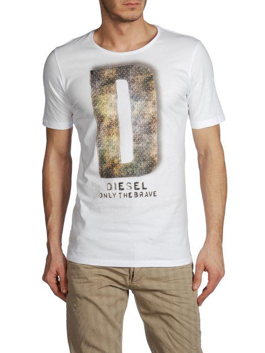 DIESEL T7-LETTER Kurze Ärmel U e