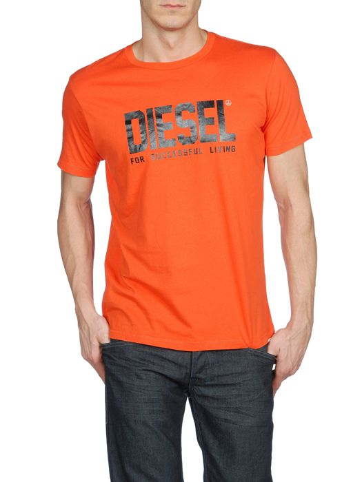 DIESEL T-TLIFE-R Short sleeves U f