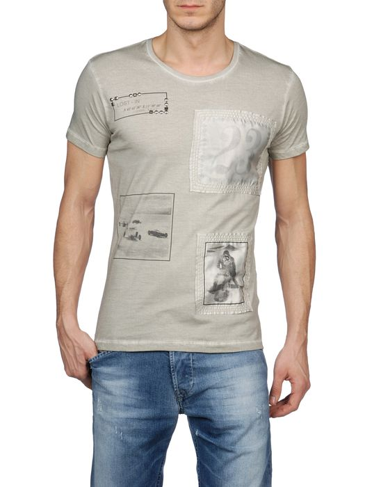 DIESEL T-CEREUS Short sleeves U f