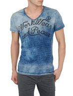DIESEL T-RUDDER-RS Short sleeves U f