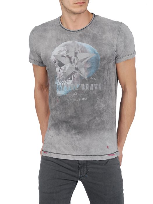DIESEL T-VERTIGO-RS Short sleeves U f