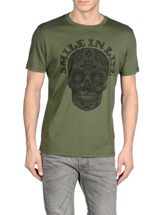 DIESEL T-HISS-R Short sleeves U e
