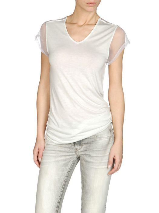 DIESEL T-PORTULA-O Short sleeves D f