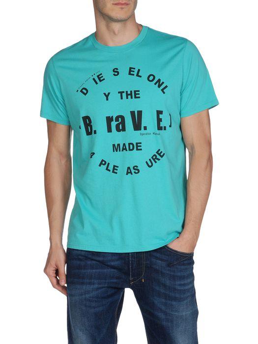 DIESEL T-BAYU-R Short sleeves U f