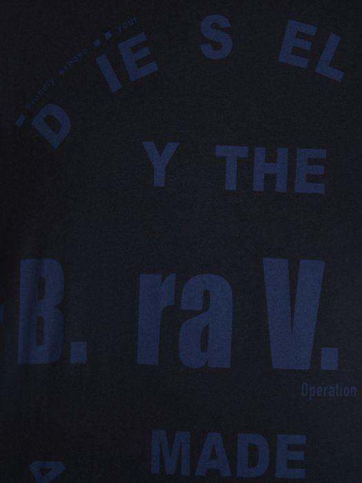 DIESEL T-BAYU-R Short sleeves U d
