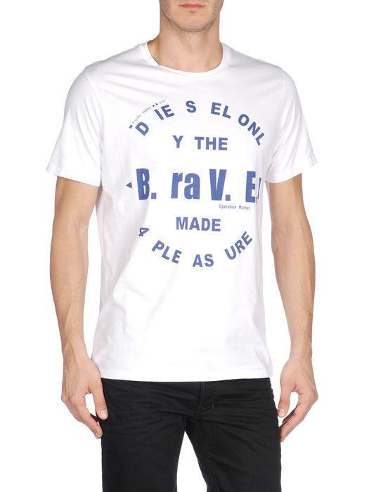 DIESEL T-BAYU-R Short sleeves U e