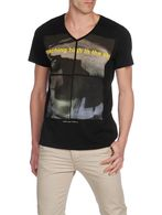 DIESEL T-ZANBATO-RS Short sleeves U f