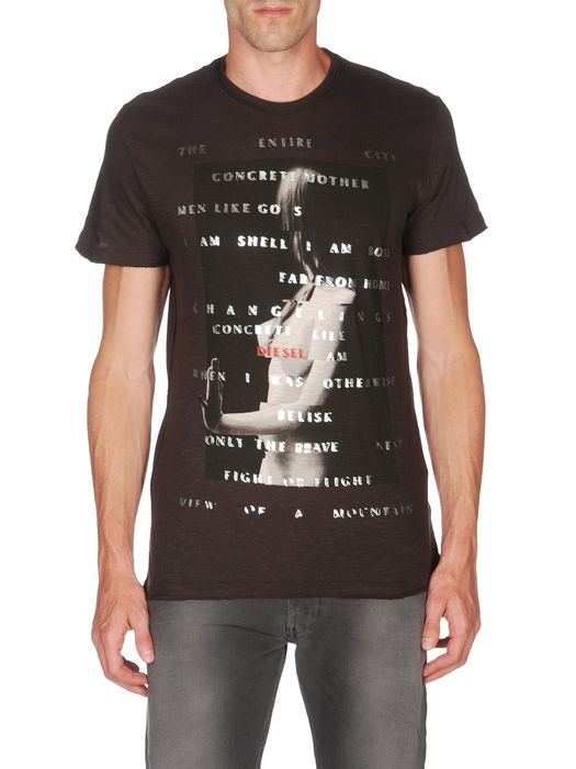 DIESEL T-TAKOUBA-RS T-Shirt U e
