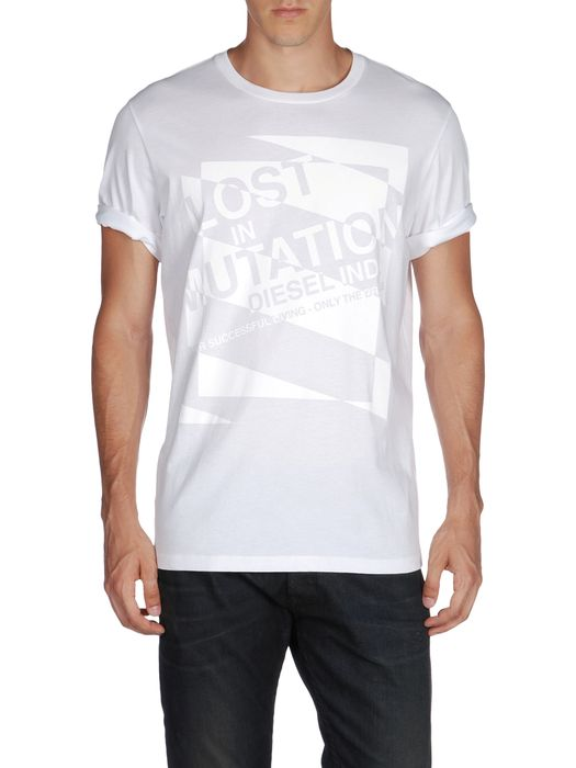 DIESEL T-ALABARDA-R Short sleeves U e