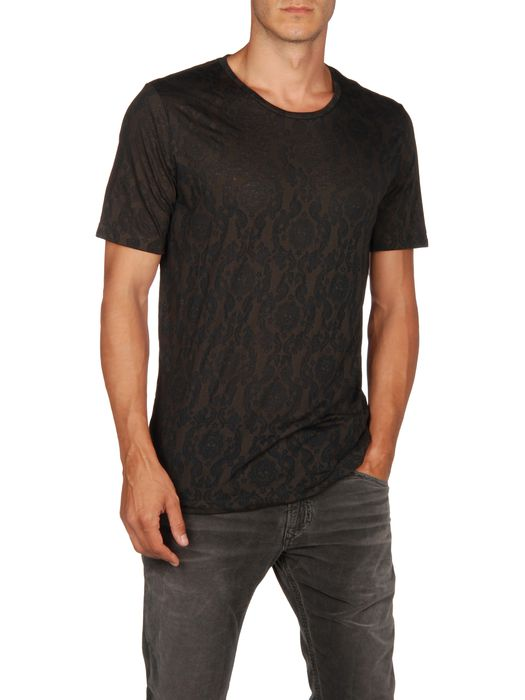 DIESEL T-ROUND-DEV Short sleeves U f