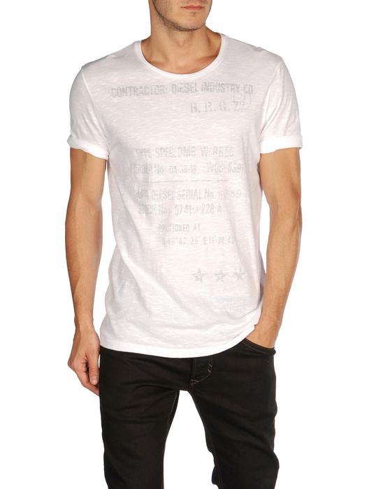 DIESEL T-SURAI-RS Short sleeves U f