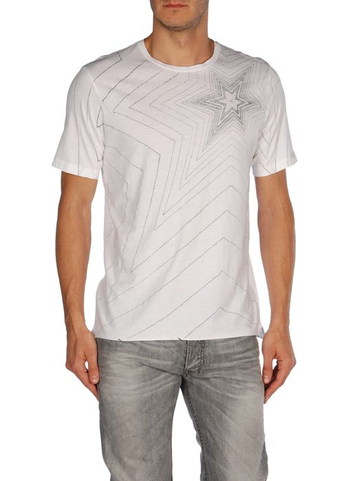 DIESEL T-TOMBAK Short sleeves U e