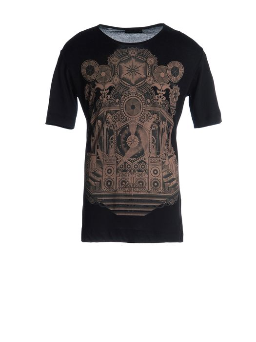 DIESEL BLACK GOLD TORICIY-CARROSEL Short sleeves U f