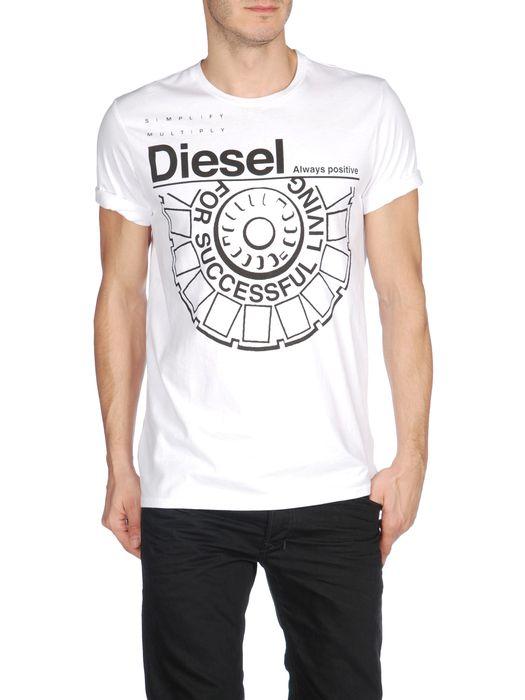 DIESEL T-BALLOCK-R Short sleeves U f