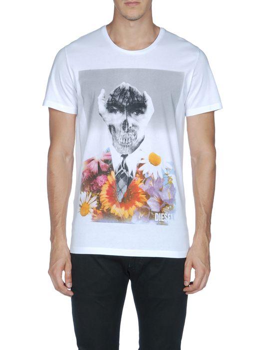 DIESEL T-HANDSKULL T-Shirt U e