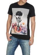 DIESEL T-HANDSKULL Camiseta U f