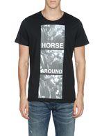 DIESEL T-HORSEPLAY Camiseta U e