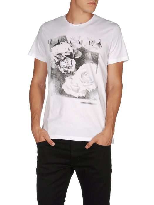DIESEL T-SKULLROSES Camiseta U f