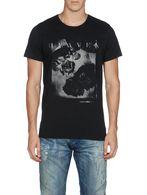 DIESEL T-SKULLROSES T-Shirt U e