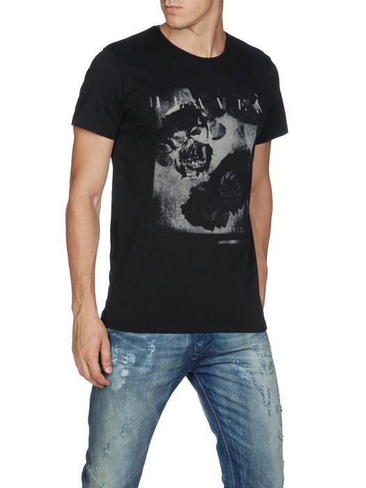 DIESEL T-SKULLROSES T-Shirt U f