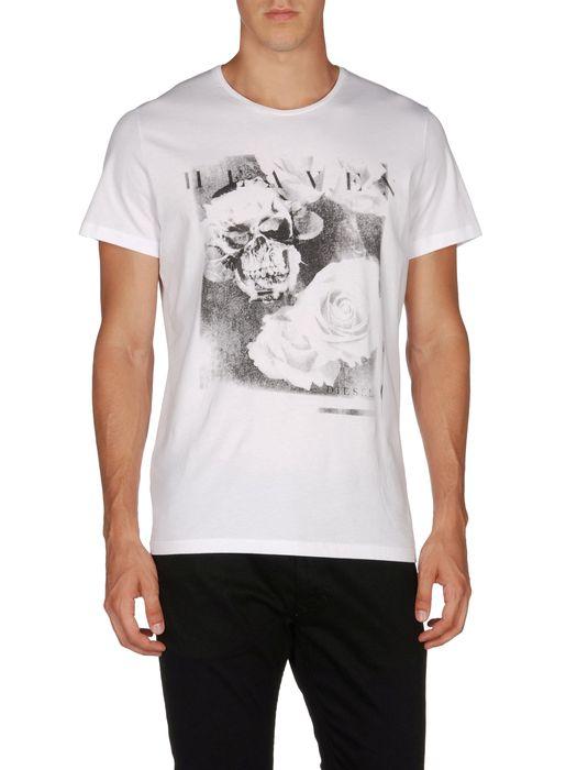 DIESEL T-SKULLROSES Camiseta U e