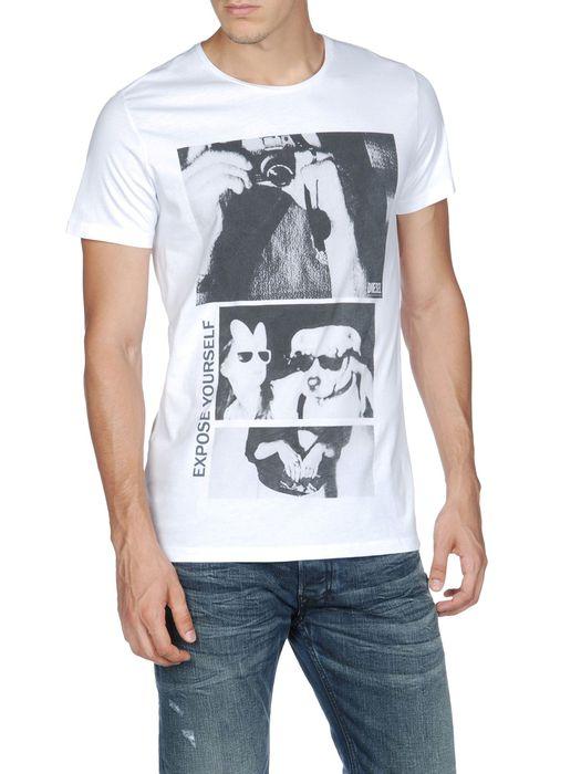DIESEL T-PHOTOANIMAL T-Shirt U f