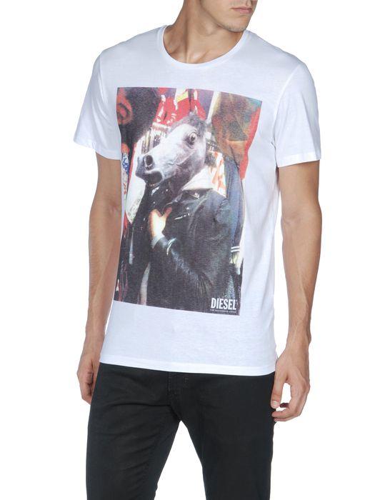 DIESEL T-PERFETTOHORSE Camiseta U f