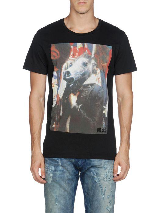 DIESEL T-PERFETTOHORSE T-Shirt U e