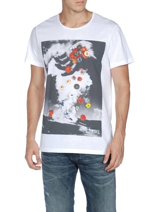 DIESEL T-FLOWERSHAND T-Shirt U f