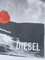 DIESEL T-FLOWERSHAND T-Shirt U d