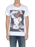 DIESEL T-FLOWERSHAND T-Shirt U e