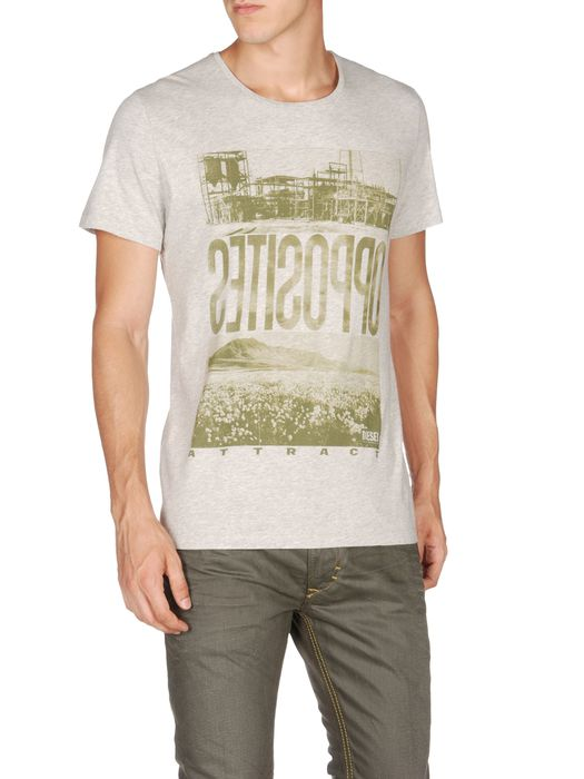 DIESEL T-OPPOSITE T-Shirt U f