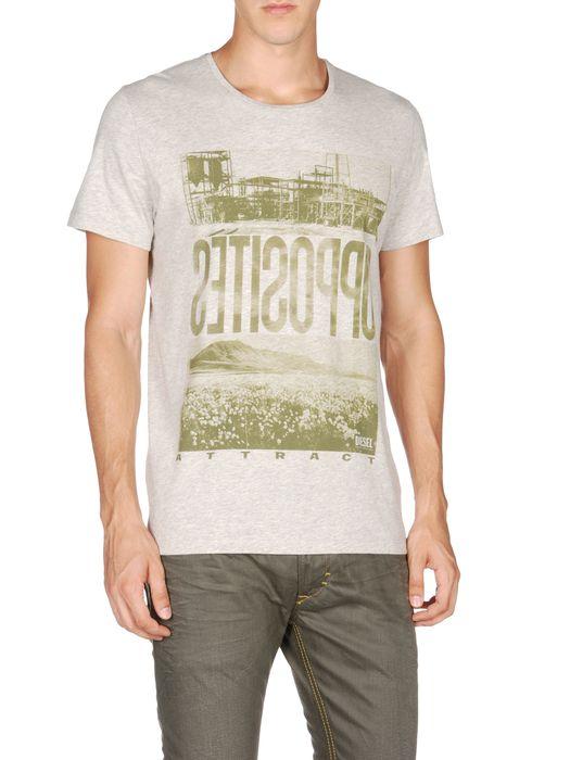 DIESEL T-OPPOSITE Camiseta U e