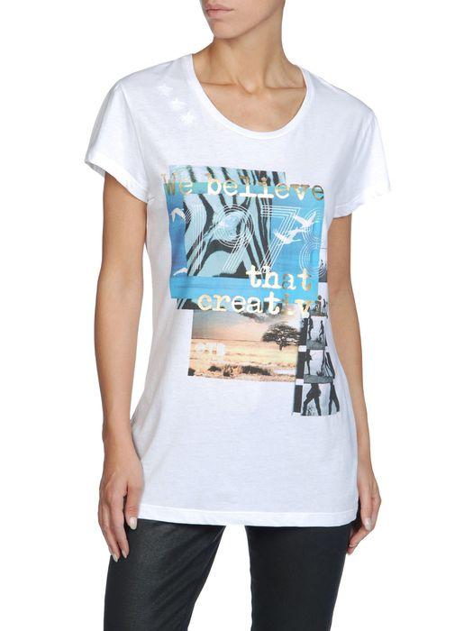 DIESEL T-OTB-FL-3 T-Shirt D f