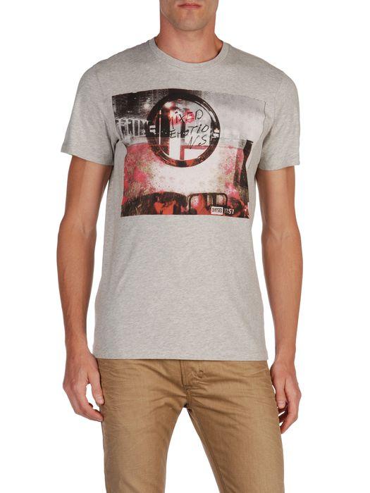 DIESEL T9-MIRROR Camiseta U e