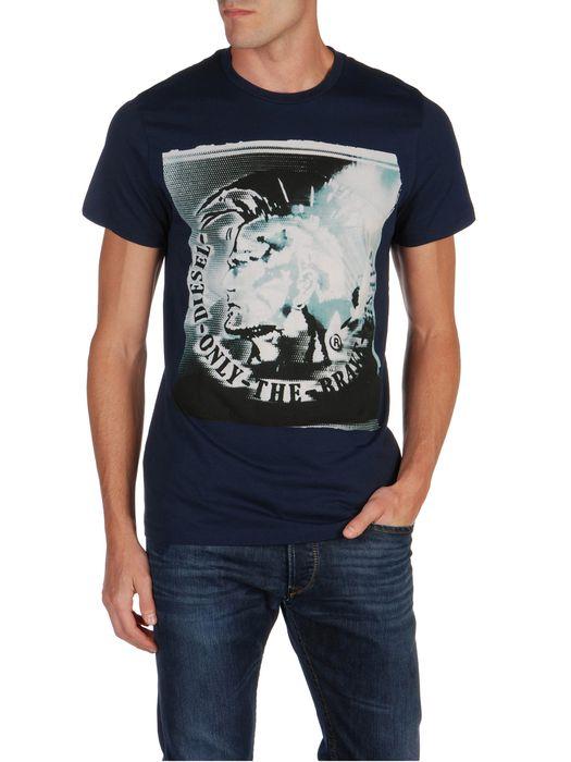 DIESEL T9-MOHICAN T-Shirt U f