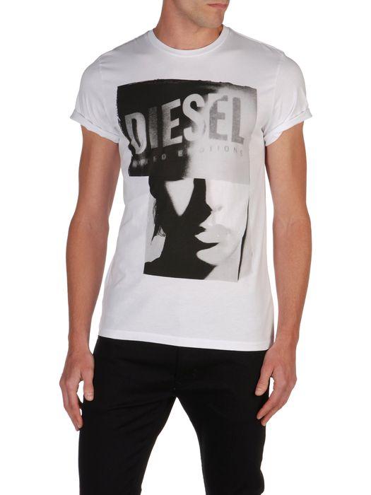 DIESEL T9-GIRLFACE T-Shirt U f