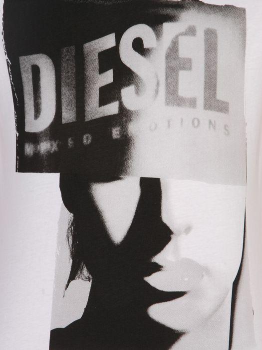 DIESEL T9-GIRLFACE T-Shirt U d