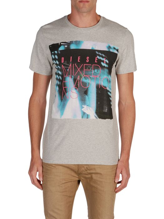 DIESEL T9-MIX-EMOTION Camiseta U e
