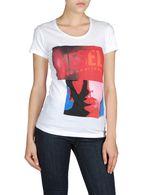 DIESEL T9-GIRLFACE-F T-Shirt D f