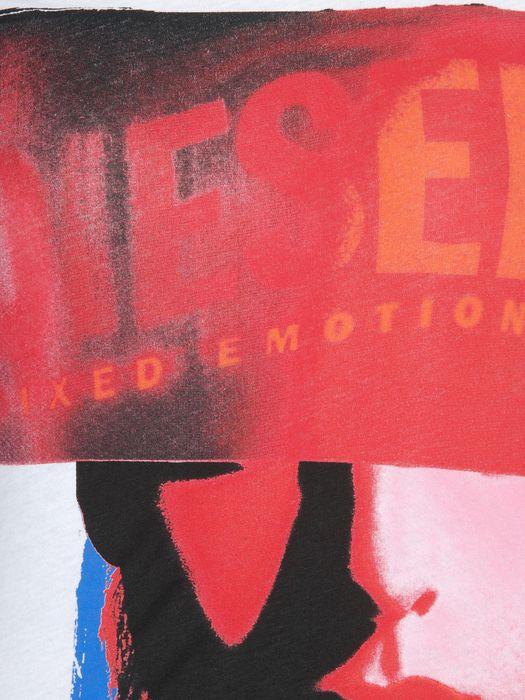 DIESEL T9-GIRLFACE-F T-Shirt D d