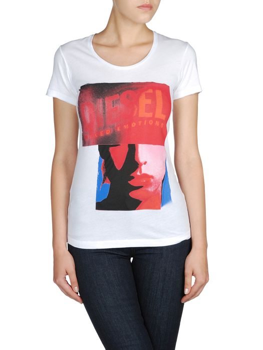 DIESEL T9-GIRLFACE-F T-Shirt D e
