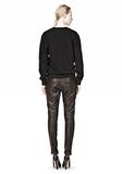T by ALEXANDER WANG OTTOMAN DOUBLE KNIT SWEATSHIRT TOP Adult 8_n_r