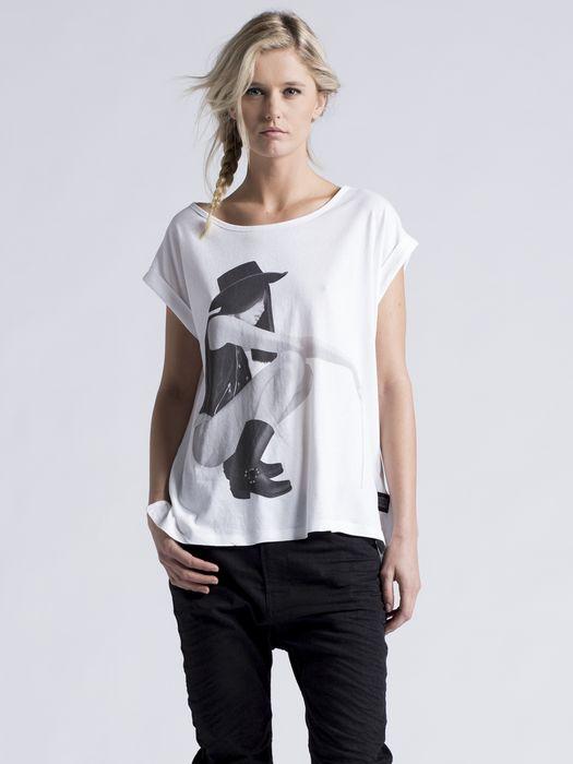 DIESEL T-ALE-C Camiseta D f