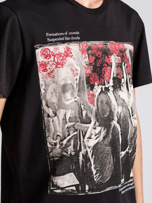 DIESEL T-LAPPA-3 Camiseta U a