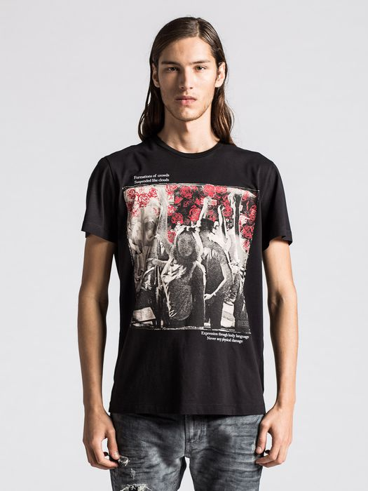 DIESEL T-LAPPA-3 Camiseta U f