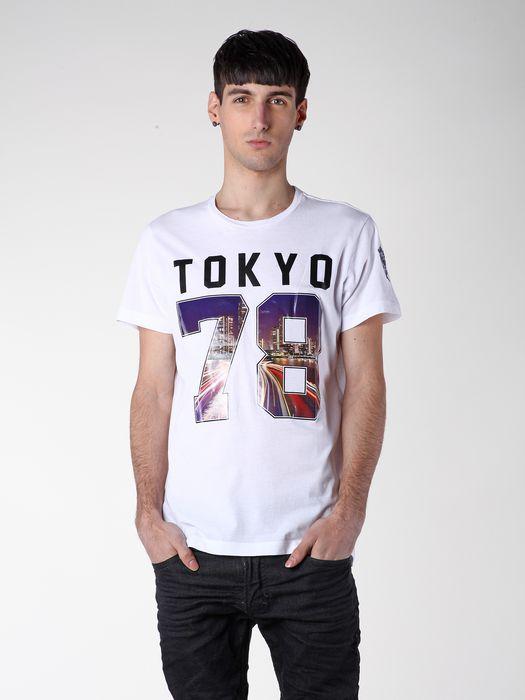 DIESEL SO14-T-TOKYO T-Shirt U a