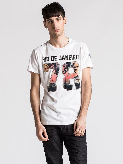 DIESEL SO14-T-RIODEJANEIRO T-Shirt U f